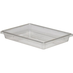 Cambro Clear Food Storage Box, 5 Gallon