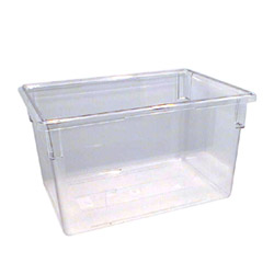 Cambro Food Container, 21 1/2 GAL, Clear