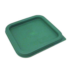 Cambro Green Square Cover, 2/4 Quart