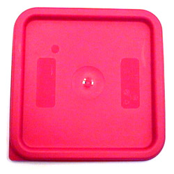 Cambro Rose Square Cover, 6/8Quart