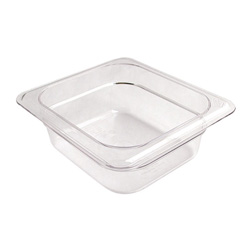 "Cambro Pan Sixth Clear 2.5"" Deep"
