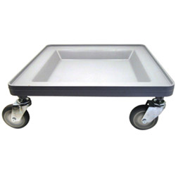 "Cambro Gray Camdolly without Handles, 20"" x 20"""