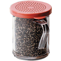 Cambro Salt and Pepper Shaker with Lid, 10 Ounce