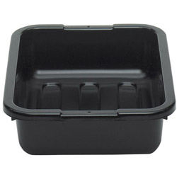 "Cambro Black Poly Bus Box, 15"" x 20"""
