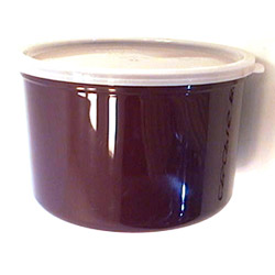 Cambro Reddish Brown Crock with Lid, 1.5 Quart