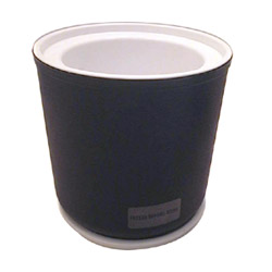 Carlisle Foodservice Products Black Coldmaster Crock, 2 Quart