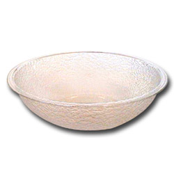 Cambro Clear Pebbled Bowl, 8""