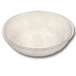 Cambro Clear Pebbled Bowl, 12""