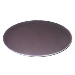Cambro 1600CT138 Tan Camtread Round Tray, 16""