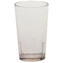 Cambro 8 Oz Hot/Cold Plastic Tumblers, Clear, Pack of 36