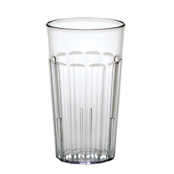 Cambro 12 Oz Plastic Tumblers, Clear, Pack of 36