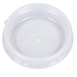 Cambro Plastic Lids for Tumblers, Fits Aladdin 8 oz. Mug or 5 oz. Bowl