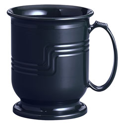 Cambro 8 oz Black Meal Delivery System Mug