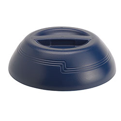 Cambro Plastic Insulated Dome Lid, Navy Blue