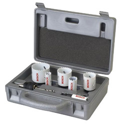 Bosch Group Plumbers Hole Saw Set