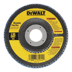 "Dewalt Tools 4-1/2"" x 5/8"" -11 80 Grit Zirconia Flap Disc Wheel"
