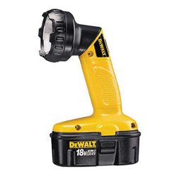 Dewalt Tools 18.0volt H.d. Cordless Pivoting Head Flashl