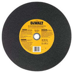 "Dewalt Tools 14"" x 3/32"" x 7/64"" x 1"" Bar Cutter Chop Saw Wheel"