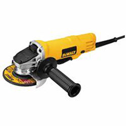 Dewalt Tools 4 1/2in Paddle Switch Small Angle Grinder, 7.5 A, 12,000 rpm