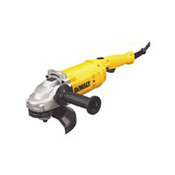Dewalt Tools Trigger, 4HP Large Angle Grinders, 9 in Dia, 15 A, 6,500 rpm, Lock-On