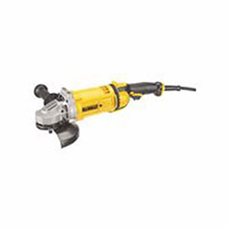 Dewalt Tools Trigger, 4.7HP Large Angle Grinders, 7 in Dia, 15 A, 8,500 rpm, Lock-On