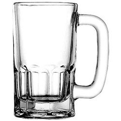 Anchor Hocking Wagon Beer Mug, 10 Oz