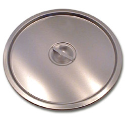 "The Vollrath Company 12 1/4"" Stainless Steel Lid for 16 Quart Stock Pot"