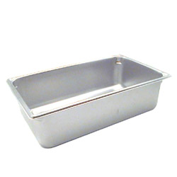 "The Vollrath Company 6"" Deep Full Size Super Pan II Stainless Steel Steam Table Pans"