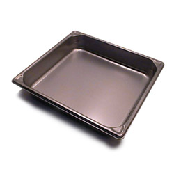 "The Vollrath Company 2 1/2"" Deep Two Thirds Size Super Pan II Stainless Steel Steam Table Pans"