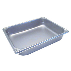 "The Vollrath Company 2 1/2"" Deep Half Size Super Pan II Stainless Steel Steam Table Pans"