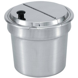 "The Vollrath Company 9 5/8"" Hinged Cover for 7 Quart Insets"