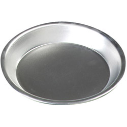 Carlisle Foodservice Products 60322 Aluminum Pie Pan, 9""