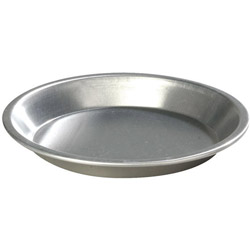 Carlisle Foodservice Products 60324 Heavy Aluminum Pie Pan, 10""