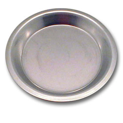 "Johnson-Rose 9"" Tapered Pie Pan, 22 Gauge"