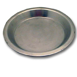 "Johnson-Rose 9"" Tapered Pie Pan, 18 Gauge"