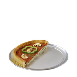 "American Metalcraft 9"" Standard Pizza Tray"