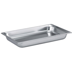 "The Vollrath Company 2 1/2"" Deep Full Size Rectangular Food Pan"