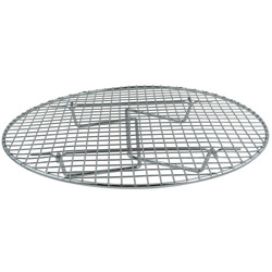 Update International Round Chrome Plated Steamer Rack, 14.75""