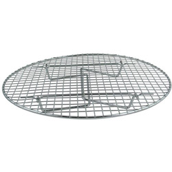 Update International Round Chrome Plated Steamer Rack, 17.75""