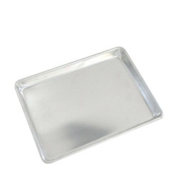 "Crestware 9 1/2"" x 13"" Quarter Size Sheet Pan"