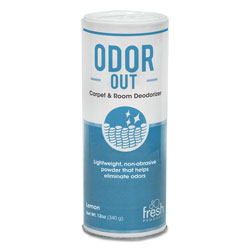Fresh Products Lemon Scent Odor Out Rug & Room Deodorant, 12 Ounce