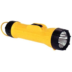 Brightstar The Bright Star Industrial Flashlight, Yellow