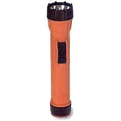 Brightstar Worksafe Flashlight, Orange