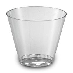 EMI Yoshi Plastic Tumbler, 9 OZ, Clear
