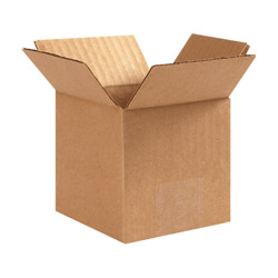 "Box Partners 12"" x 12"" x 12"" Brown Corrugated Boxes"