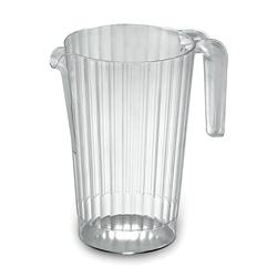 EMI Yoshi Plastic Serving Pitcher, 50 OZ, Clear