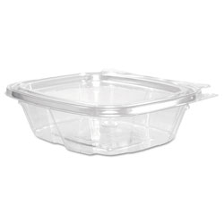 Dart ClearPac Container Lid Combo-Packs, 4.9 x 1.4 x 5.5, 8 oz, Clear, 200/Carton