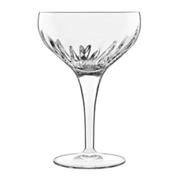 Bauscher Hepp Luigi Bormioli Mixology 7.5 oz Coupe Cocktail Glasses