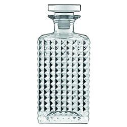 Bauscher Hepp Luigi Bormioli Mixology 25.25 oz Elixir Spirits Decanter with Airtight Glass Stopper