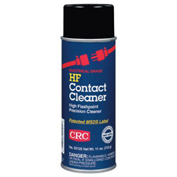 CRC 03125 HF Contact Cleaner, 11 Wt Oz